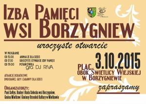 plakat Borzygniew 2015a