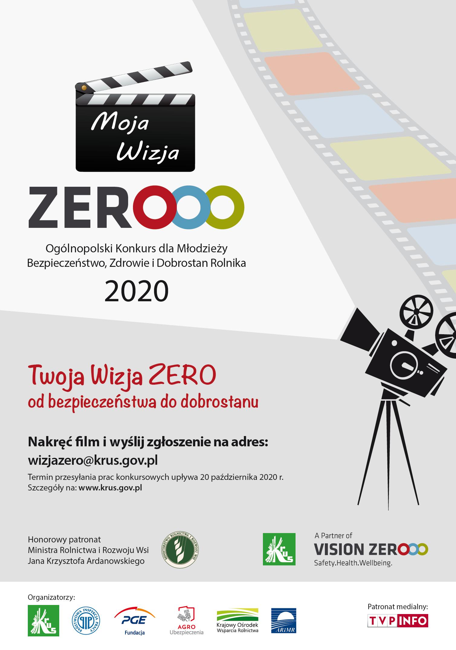 Plakat Vision Zero A3
