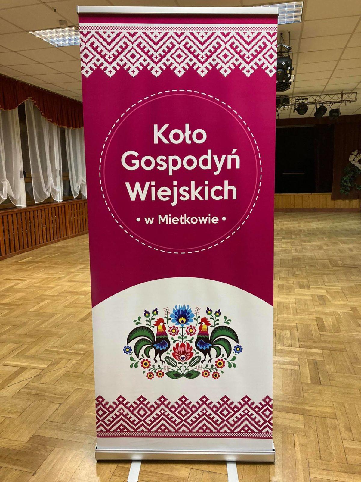 baner KGW Mietków