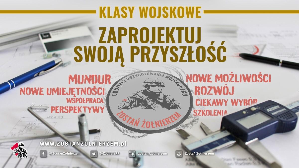 Logo Klasy Wojskowe WKU