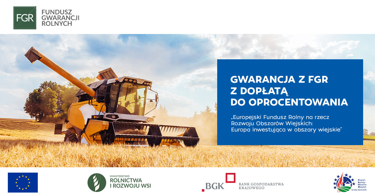 Plakat Gwarancja z FGR